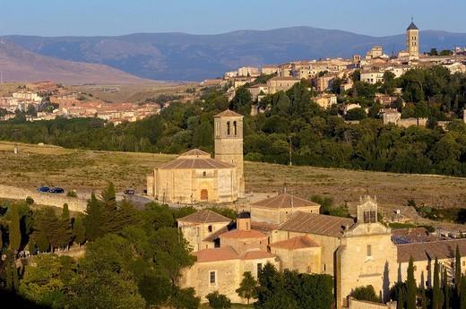 Iglesia de la Vera Cruz, near Zamarramala. Segovia, Castile-Leon, Spain : Stock Photo