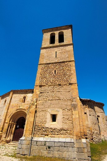 Stock Photo: 1436R-356957 Iglesia de la Vera Cruz, near Zamarramala. Segovia, Castile-Leon, Spain
