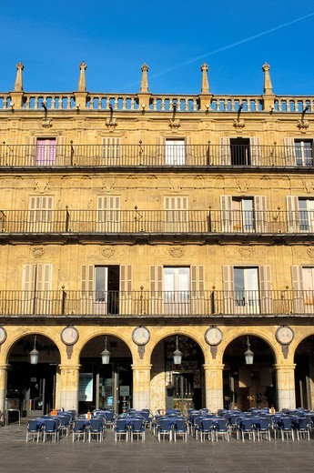 Main Square. Salamanca. Castilla-Leon, Spain : Stock Photo