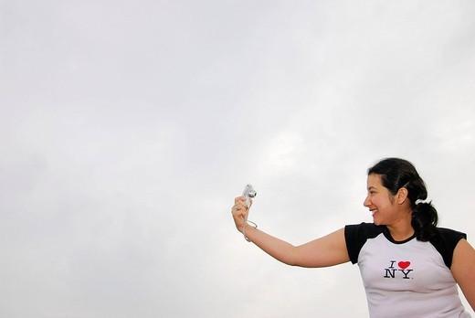 Latino woman. : Stock Photo