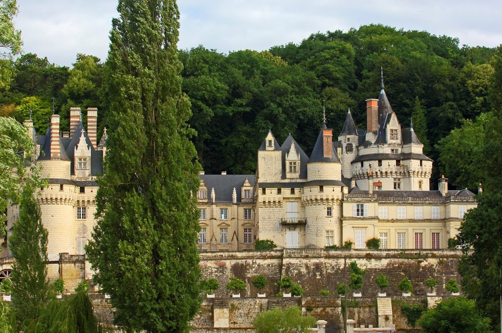 Stock Photo: 1436R-362832 Chateau d´Usse, Rigny-Usse, Indre-et-Loire, Loire valley, France