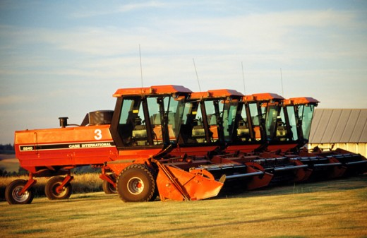 Stock Photo: 1436R-42057 Farm equipment