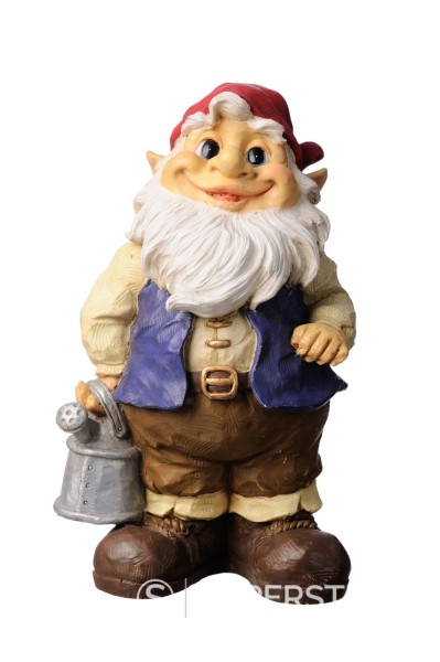 Stock Photo: 1436R-430430 Colourful garden gnome