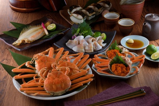 Stock Photo: 1436R-431563 Seafood of Hokuriku region