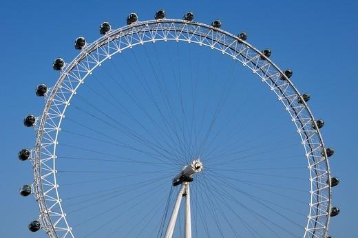 Stock Photo: 1436R-431816 London Eye, London, England, UK