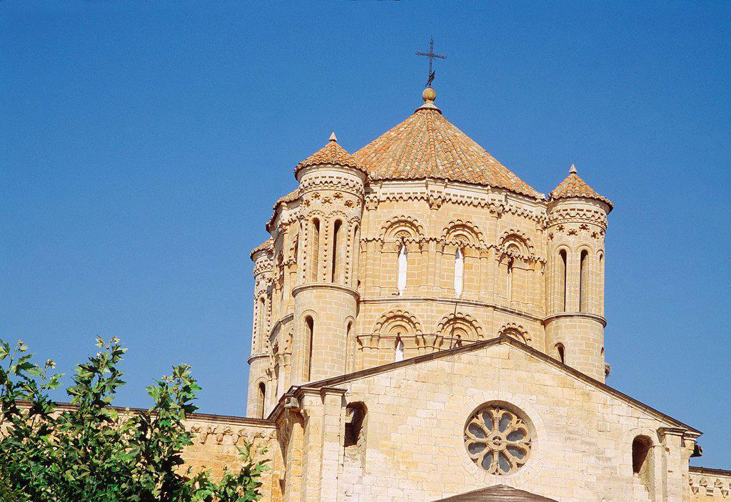 Stock Photo: 1436R-442307 Dome of collegiate church. Toro, Zamora province, Castilla Leon, Spain.