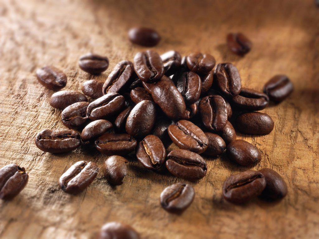 Stock Photo: 1436R-444615 Coffee beans