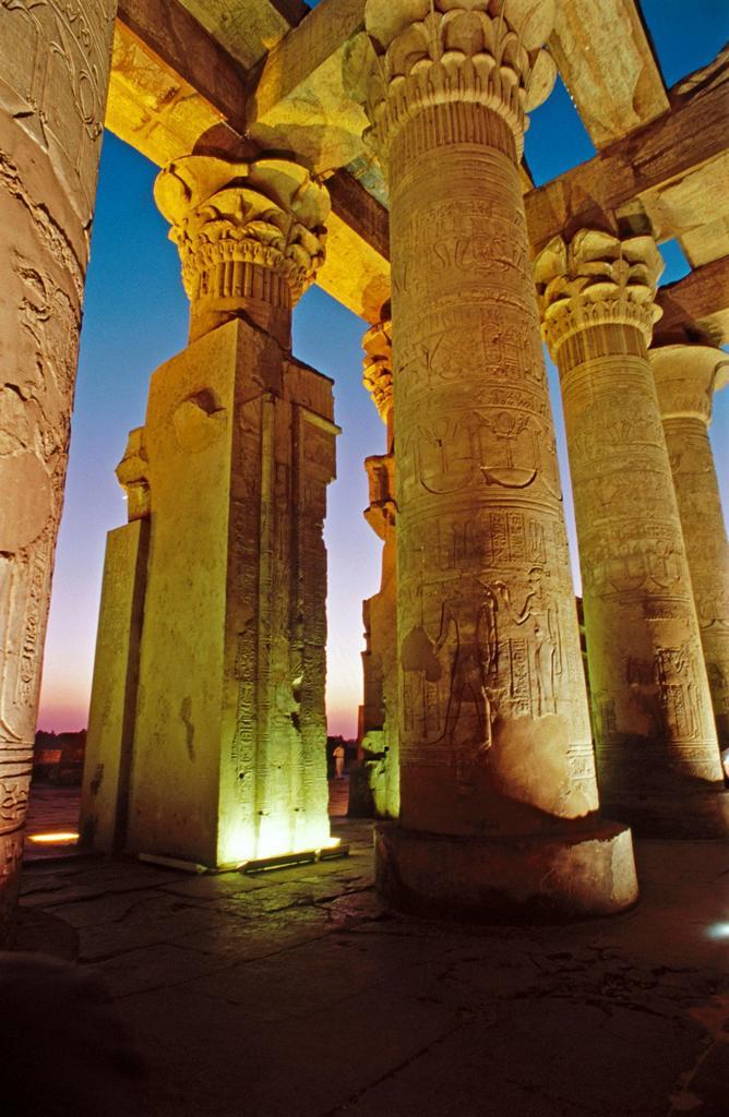 Stock Photo: 1436R-446268 Kom Ombo temple  Aswan  Egypt