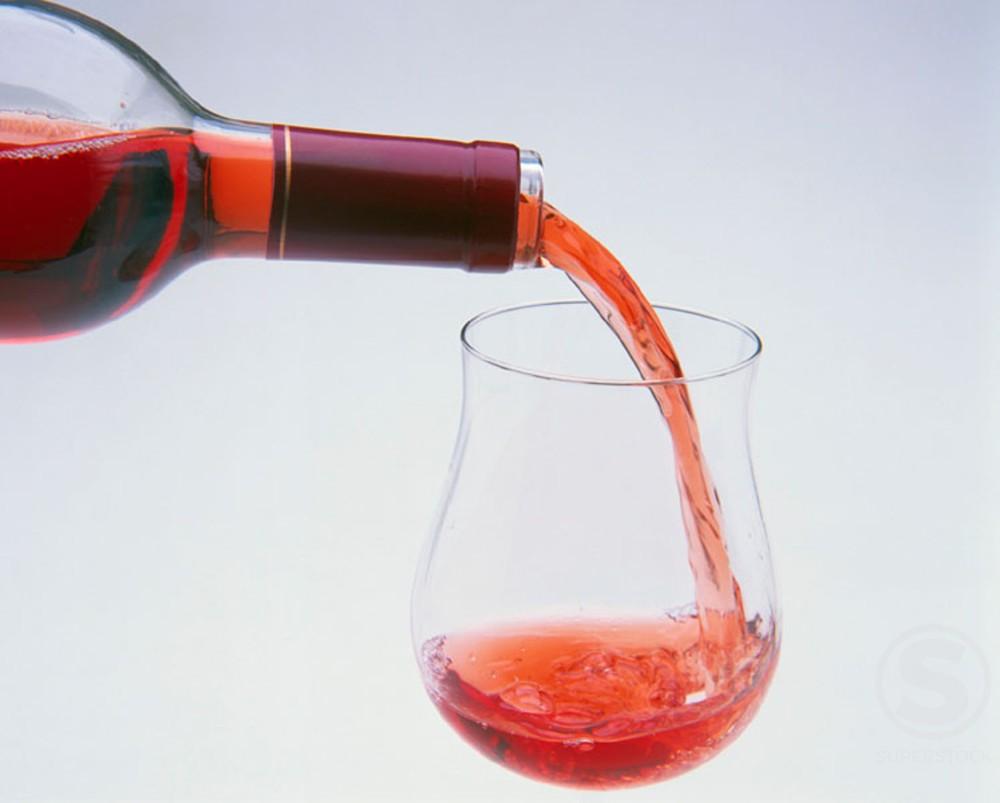 Stock Photo: 1436R-49041 Wine