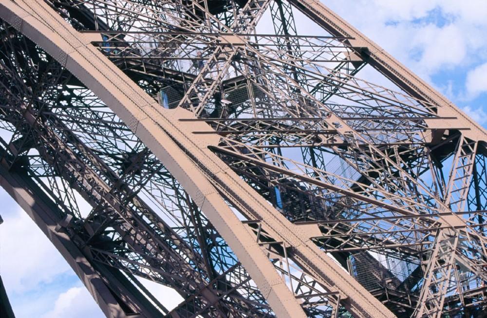 Eiffel Tower Paris France : Stock Photo
