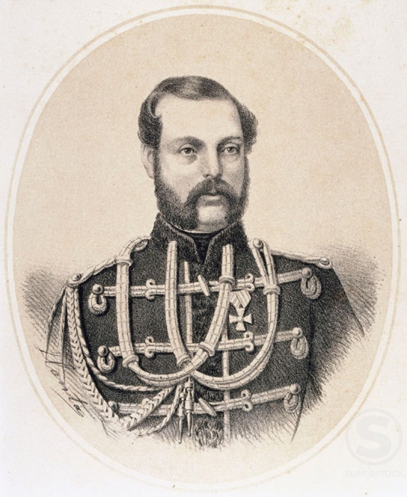 Alexander II  Tsar of Russia from 1855 to 1881 (1818-1881)  : Stock Photo