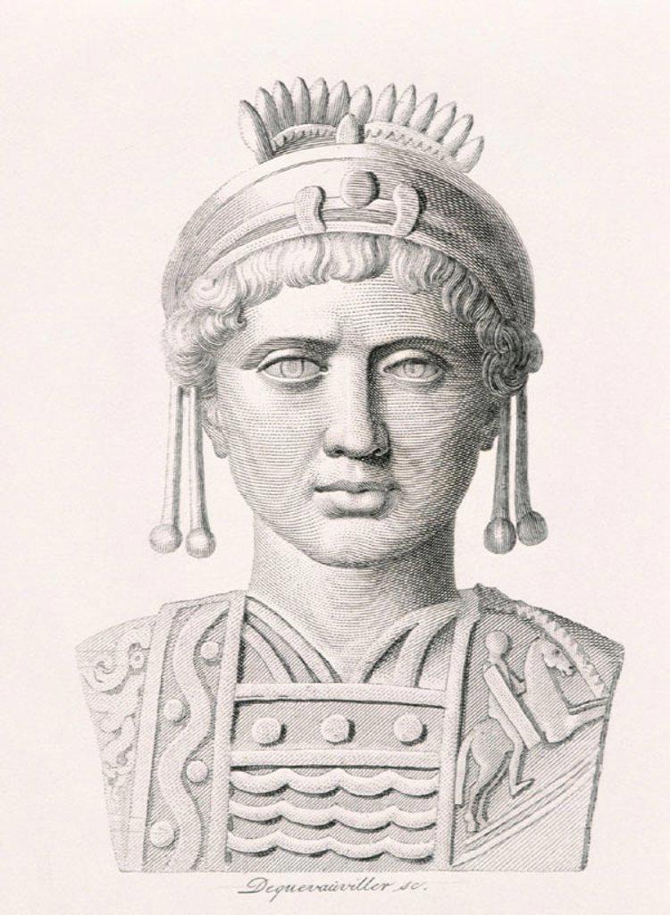 Stock Photo: 1436R-87096 Justinian I Byzantine Emperor  (483-565)