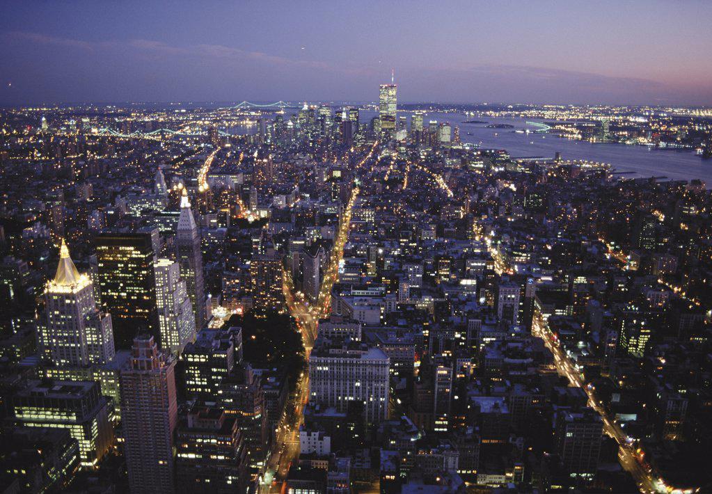Stock Photo: 1439R-08420 New York City