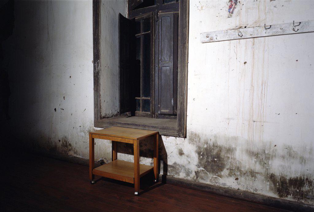 Abandoned room : Stock Photo