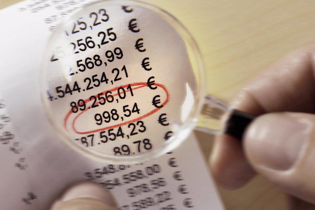 Calculation : Stock Photo