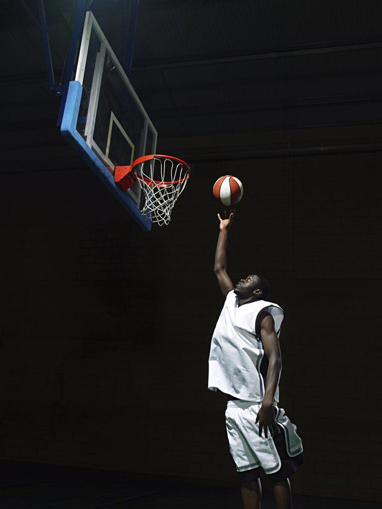 Stock Photo: 1439R-1003119 Basketball player