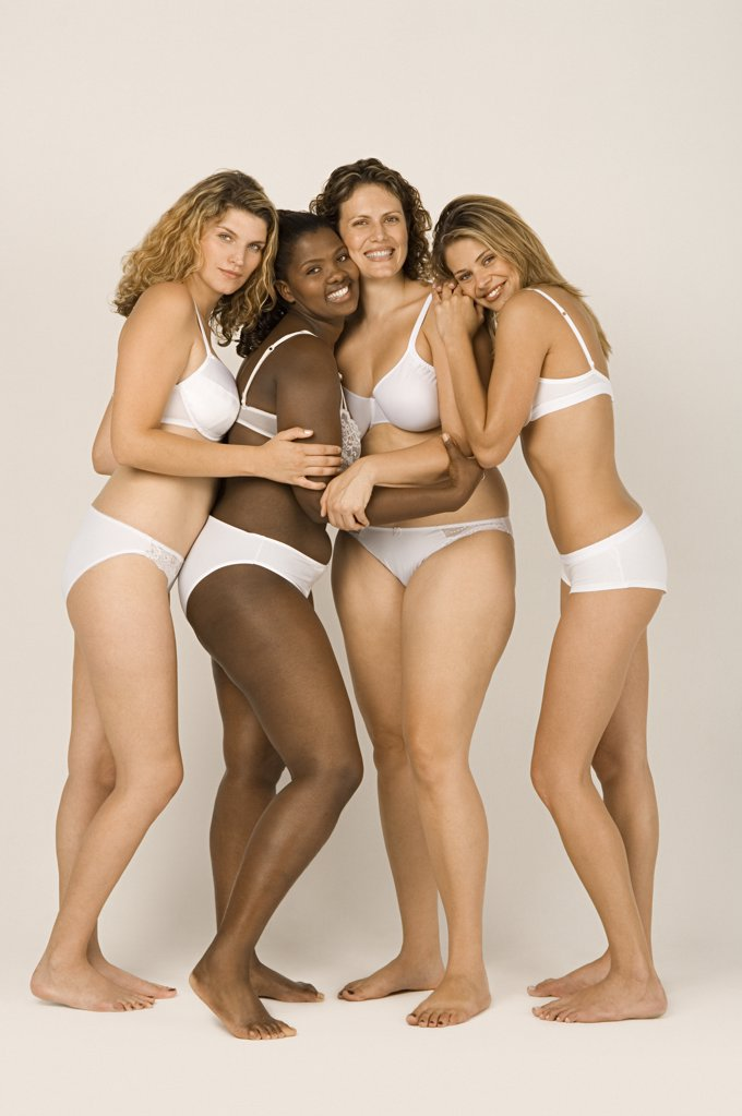 Women in underwear : Stock Photo