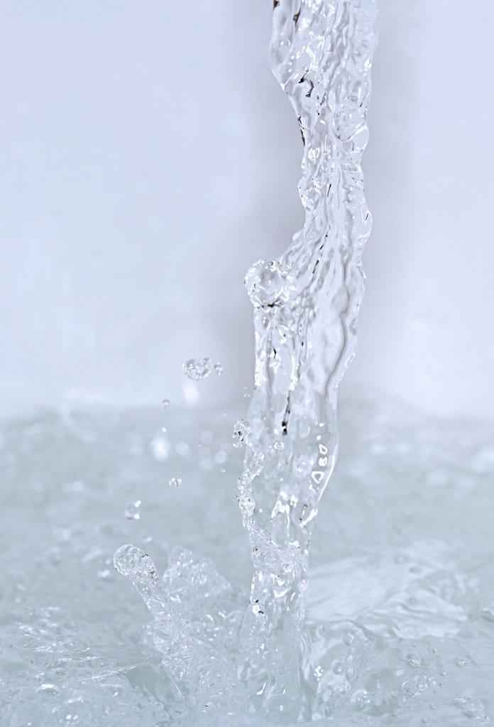 Stock Photo: 1439R-1005184 Running water
