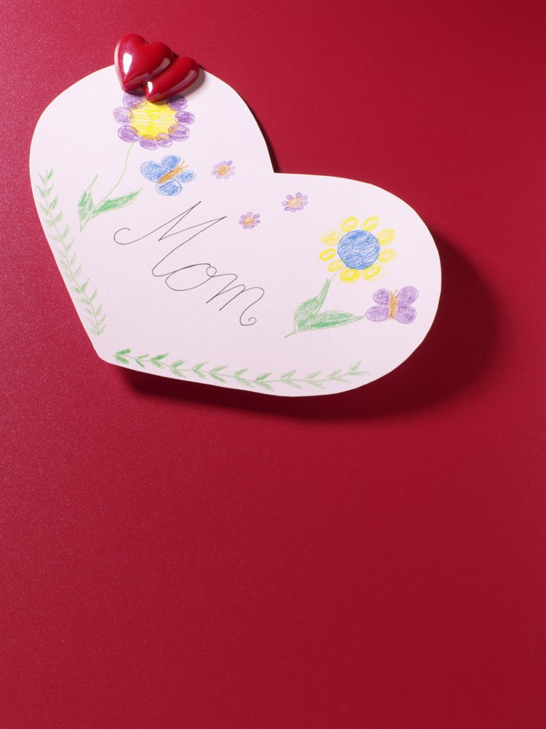 Stock Photo: 1439R-1005595 Mothers day card