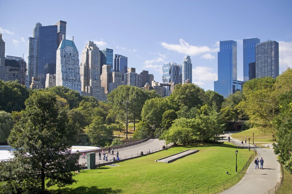 Stock Photo: 1439R-1006495 Central park new york