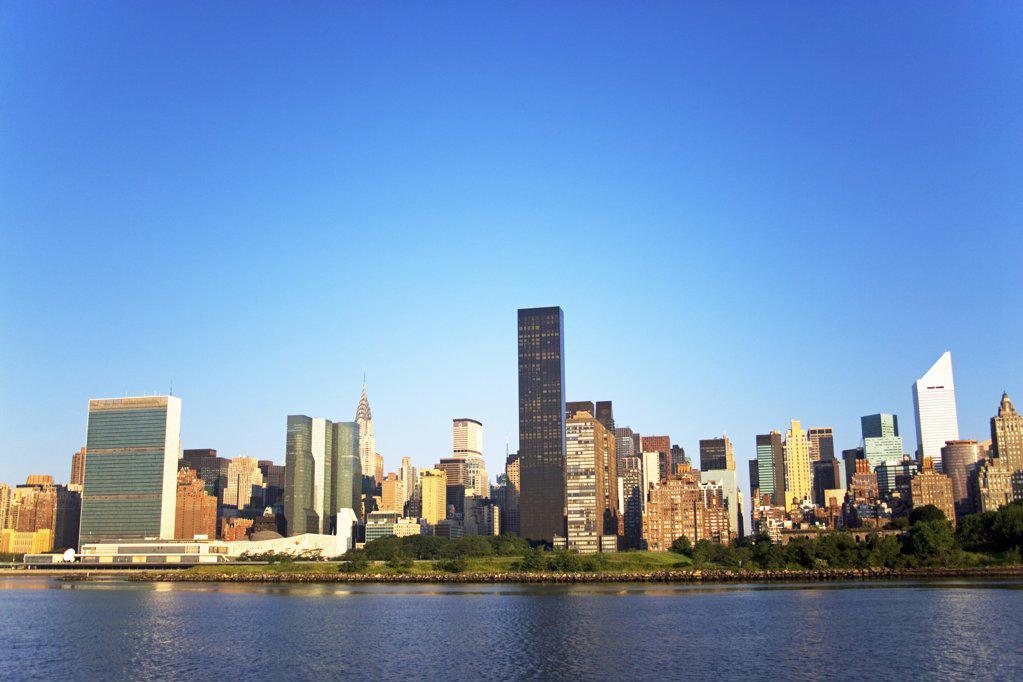 Stock Photo: 1439R-1006497 New york skyline