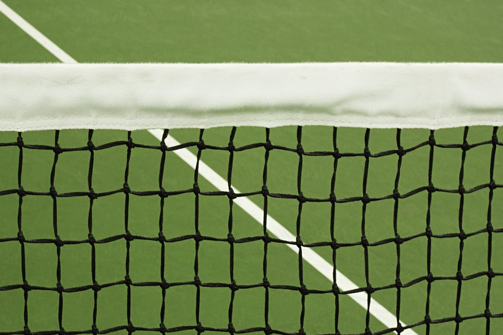 Stock Photo: 1439R-1007789 Tennis court