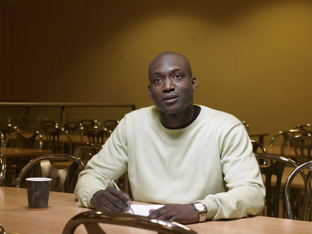 Portrait of a mature student : Stock Photo