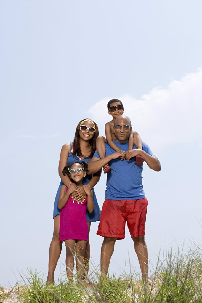 Stock Photo: 1439R-1025534 Portrait of a family