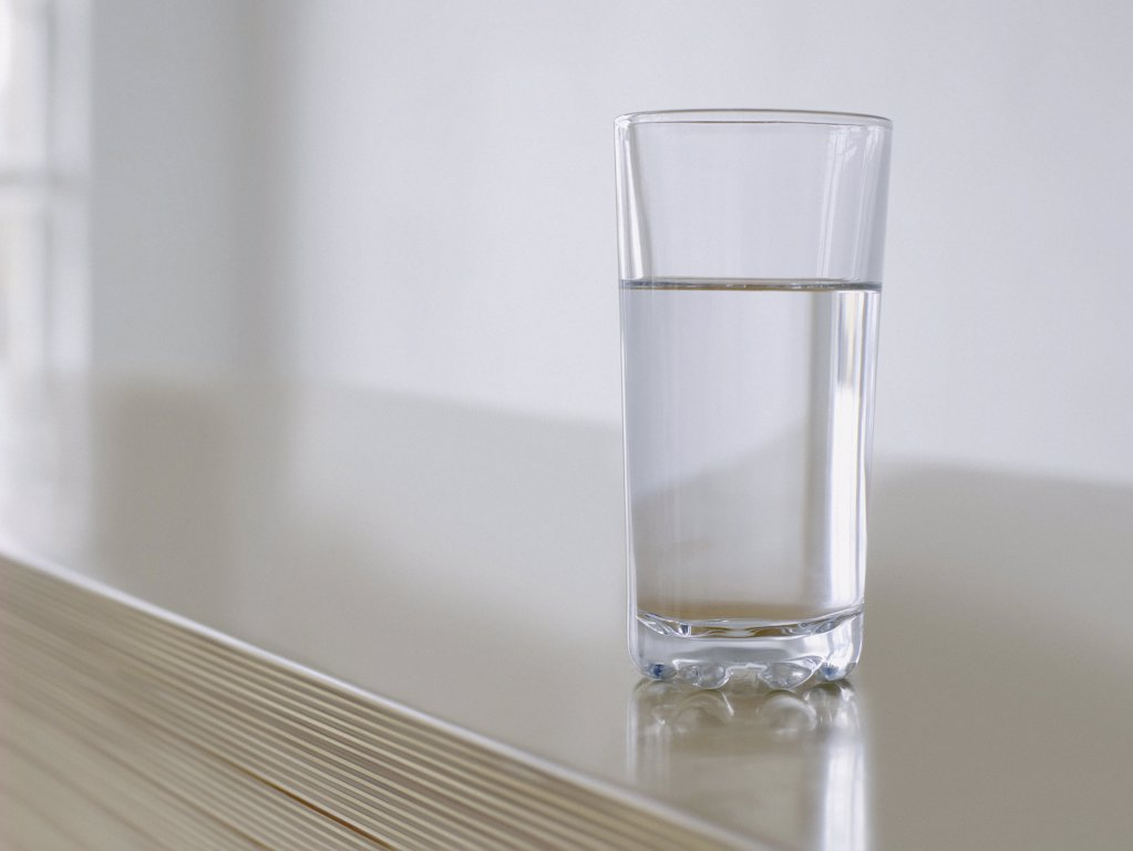 Stock Photo: 1439R-1028801 Glass of water