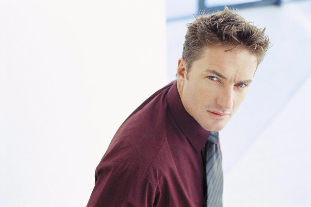 Stock Photo: 1439R-103072 Portrait of a businessman