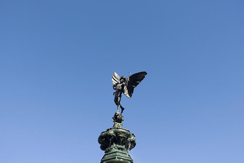 Stock Photo: 1439R-1031365 Statue of eros