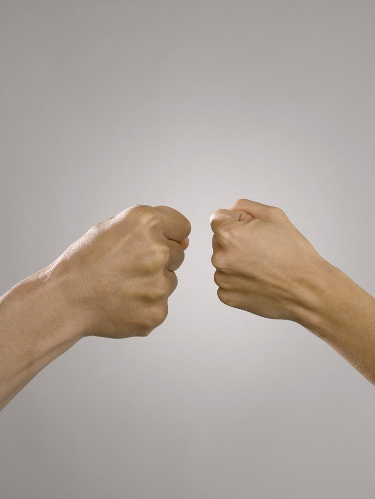 Stock Photo: 1439R-1032478 Fists