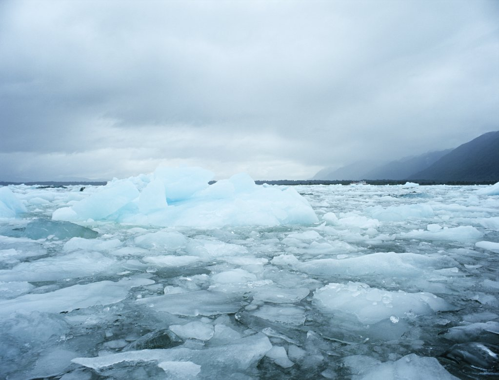 Stock Photo: 1439R-1047912 Icebergs laguna san rafael national park