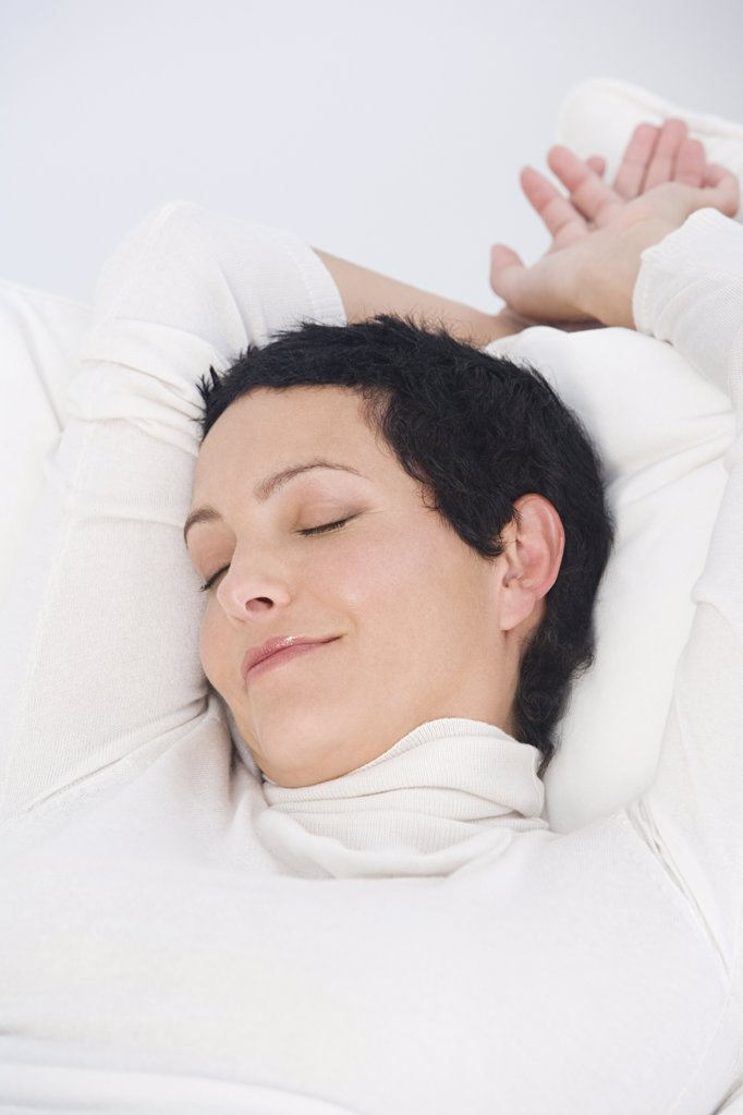 Woman sleeping : Stock Photo