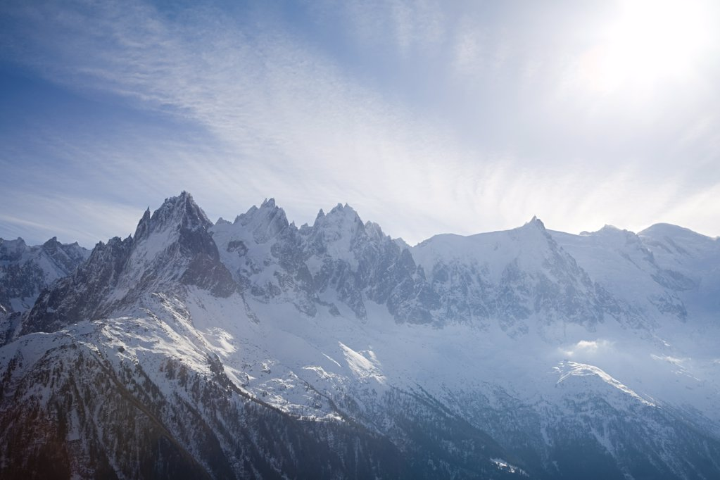 Stock Photo: 1439R-1049614 Mountains of the french alps