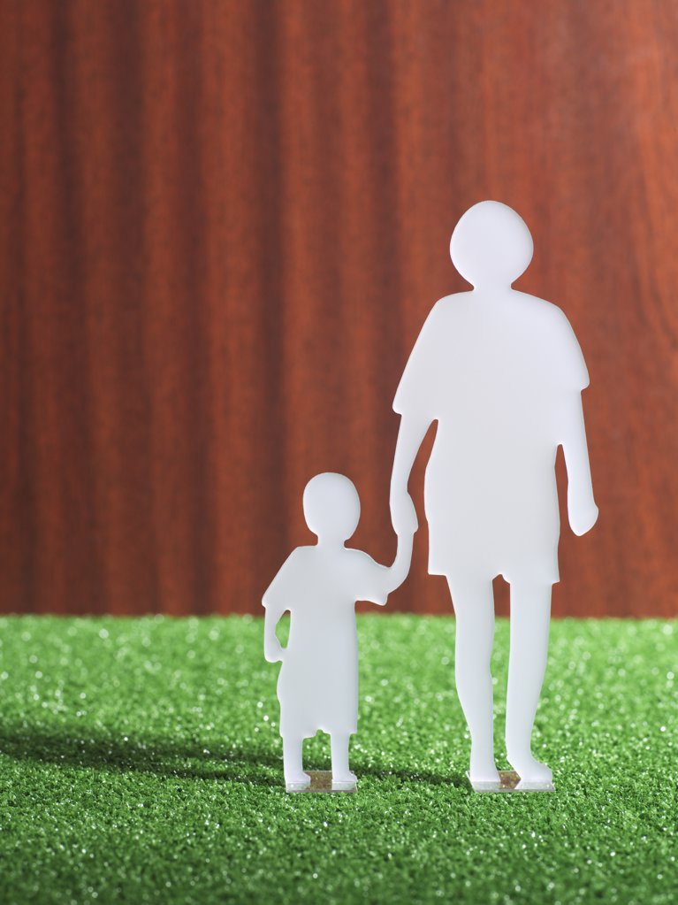 Model of parent and child : Stock Photo