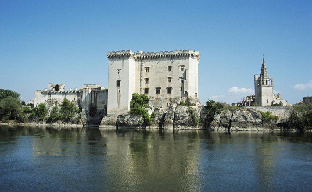 Tarascon castle : Stock Photo