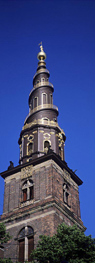 Church of our saviour copenhagen : Stock Photo