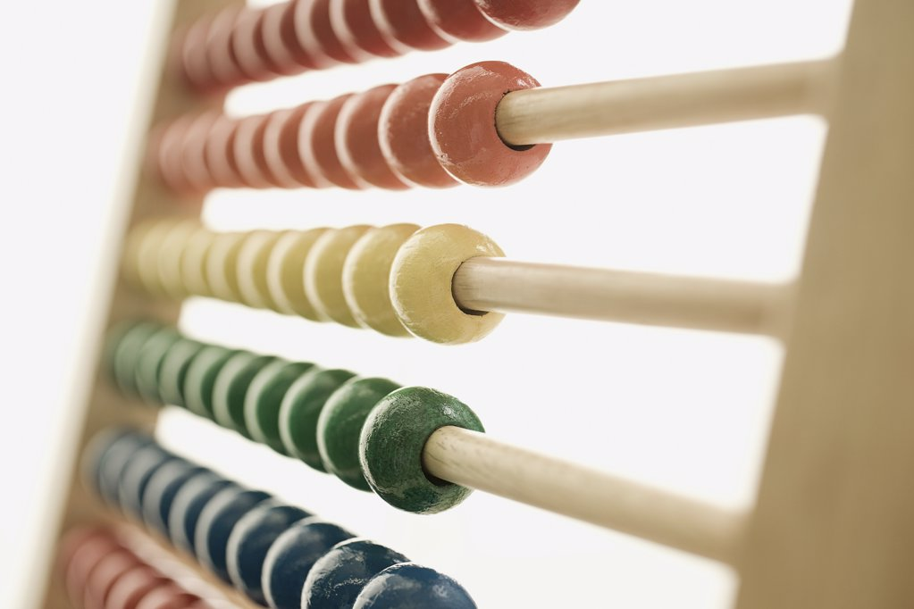 Stock Photo: 1439R-1067035 Abacus