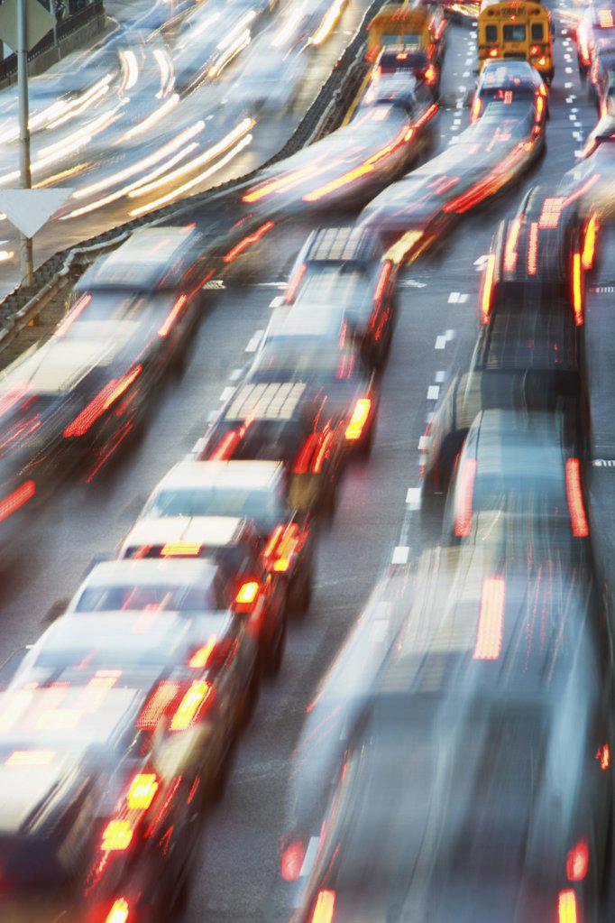 Stock Photo: 1439R-1071070 Traffic on road