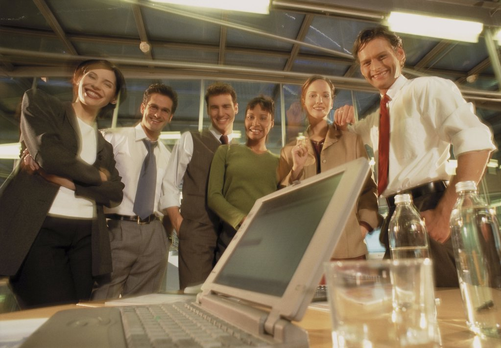 Business people in office : Stock Photo