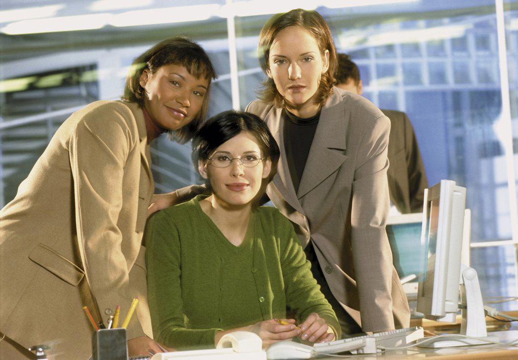 Stock Photo: 1439R-1071697 Women in office