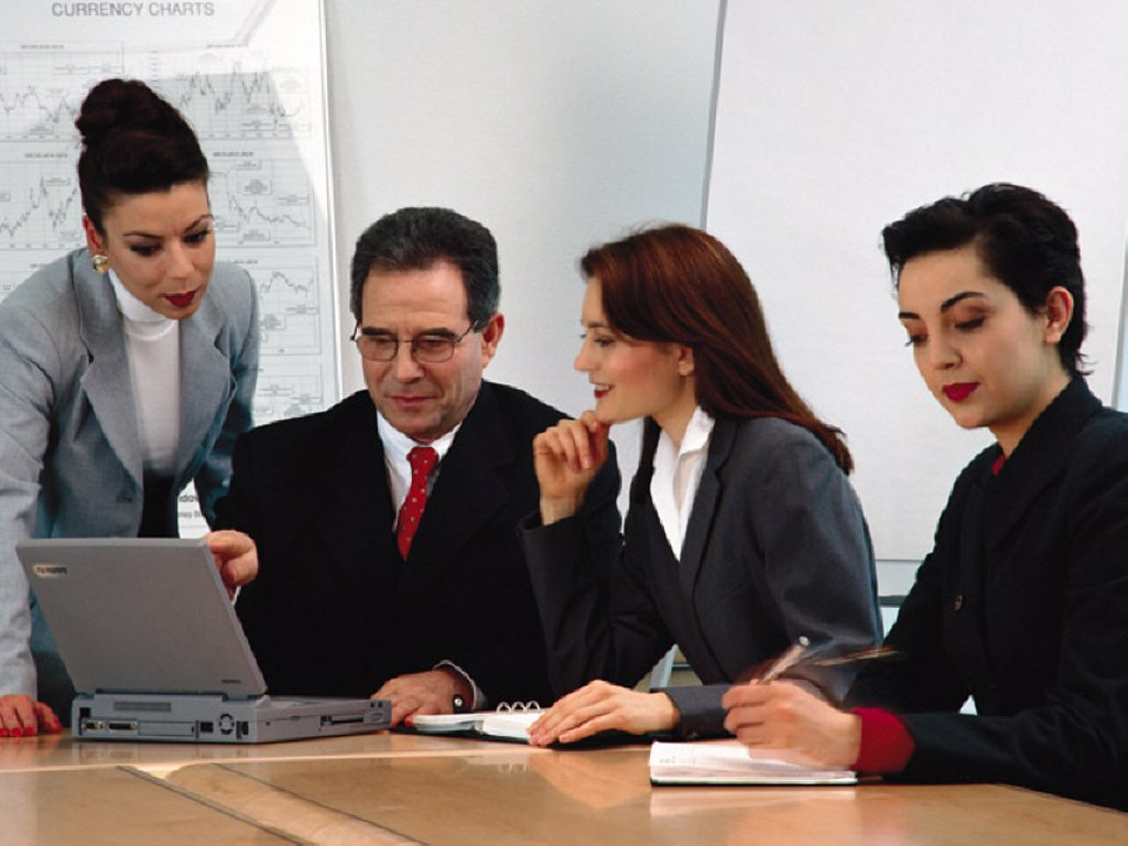 Stock Photo: 1439R-1071820 Business people