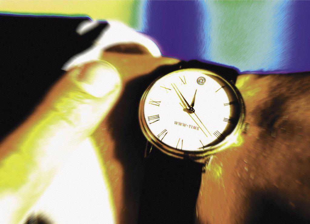 Stock Photo: 1439R-1072078 Wrist watch