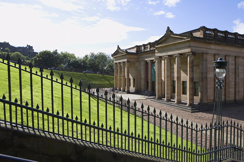 National gallery of scotland : Stock Photo