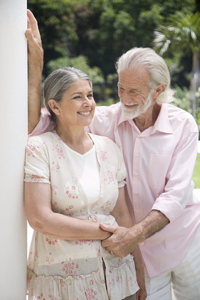 A senior couple : Stock Photo