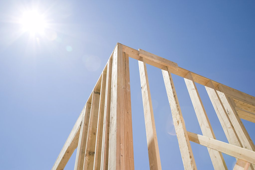 Framework of a house : Stock Photo