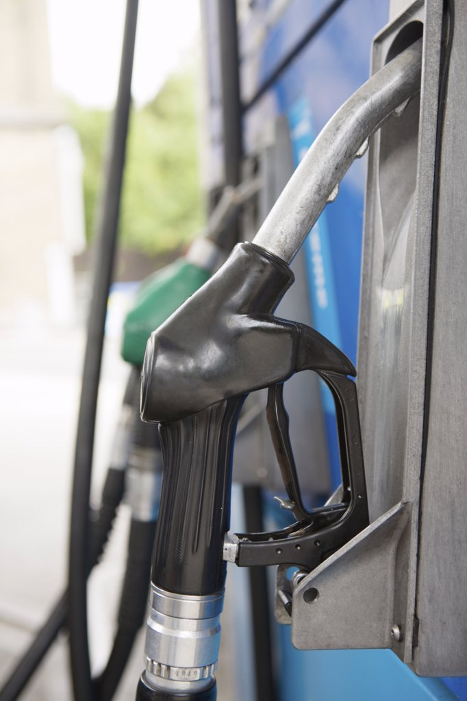 Close up of petrol pump : Stock Photo
