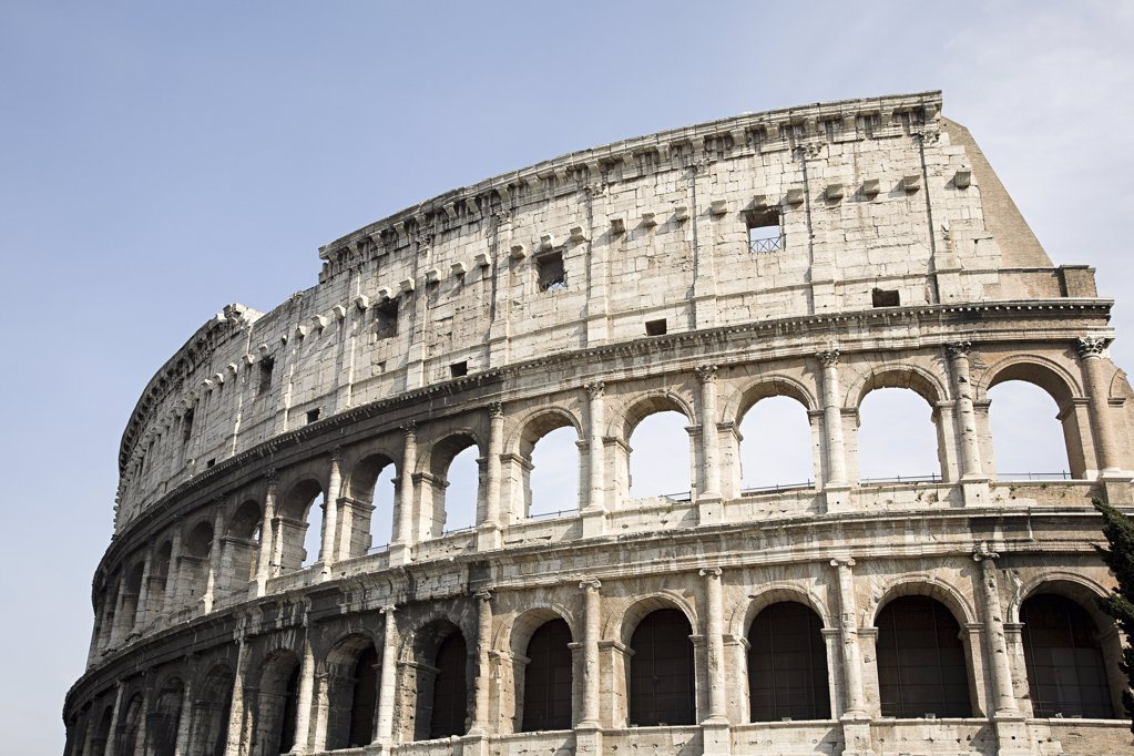 The colosseum in rome : Stock Photo