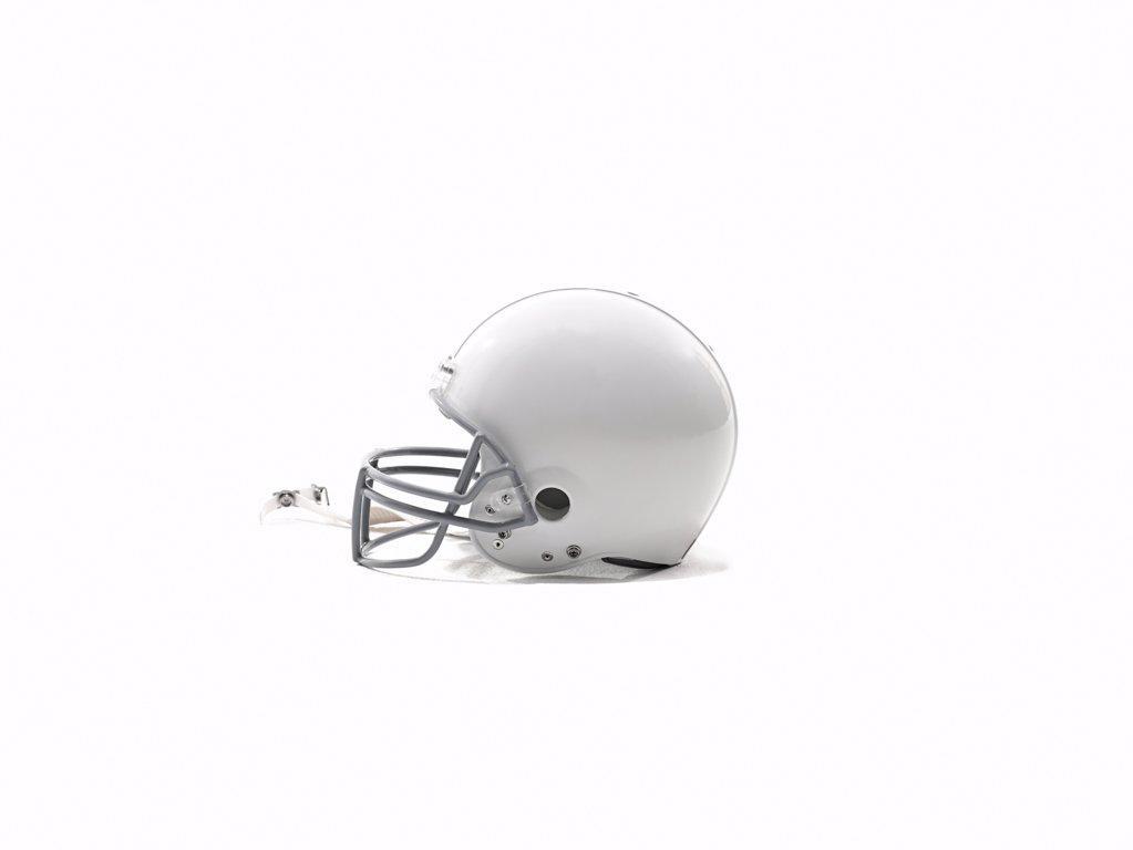 Football helmet : Stock Photo